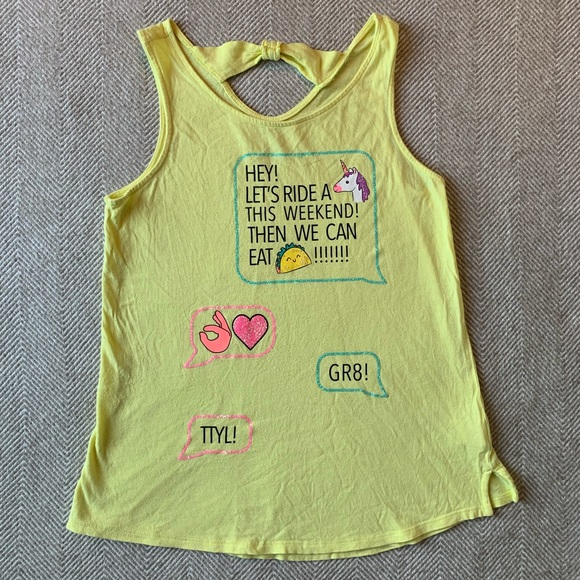 SO Other - SO Brand Girl's Cutest Tank, size 14